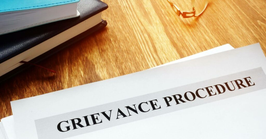 HR management of The Grievance Process